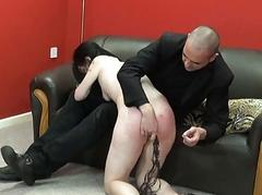 Enslaved blowjob of hardcore..