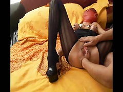 Red Mask Rachel - Anal..