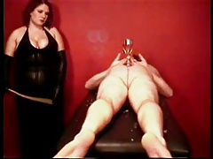 Flogging By Chesty Mistress