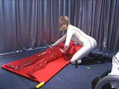 conscientious hot rubber sex!