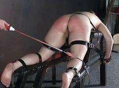 Cattleprod electro bdsm with..
