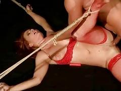Master playing with hot..