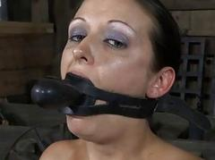 Lusty facial torture for..