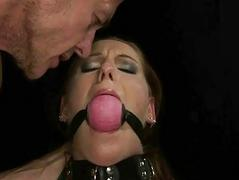 Slavegirl gets punished