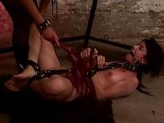 Young mistress dominating..