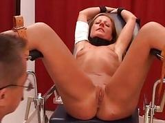 Blonde bdsm and extreme..