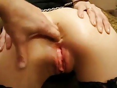 Rusian anal slave in..