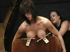 Amateur bdsm and big tit..